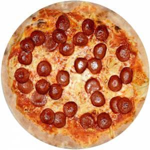 Pizza_Peperoniwurst